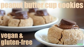 Peanut Butter Cup Cookies (vegan And Gluten-free) Something Vegan