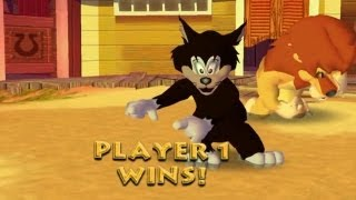 Tom & Jerry: War of the Whiskers - Gamecube Walkthrough HD 720P Part 8 - Butch (Dolphin 4)