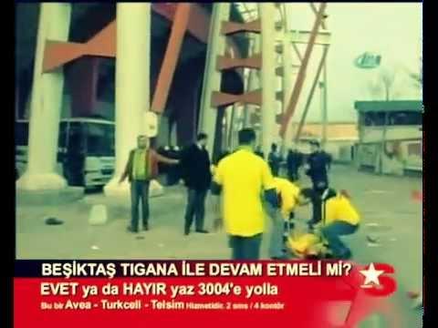Ankaragücü-Beşiktaş 2007 Olaylar ..