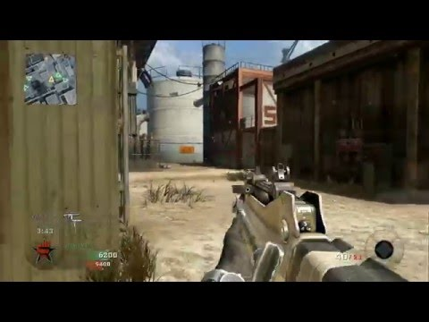 Call Of Duty Black Ops - Team Deathmatch versus Veteran Bots - Radiation