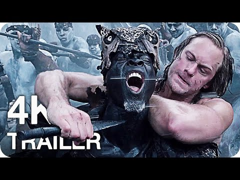 THE LEGEND OF TARZAN Movie Trailer 1 & 2...