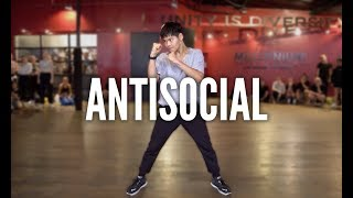 ED SHEERAN & TRAVIS SCOTT - Antisocial | Kyle Hanagami Choreography
