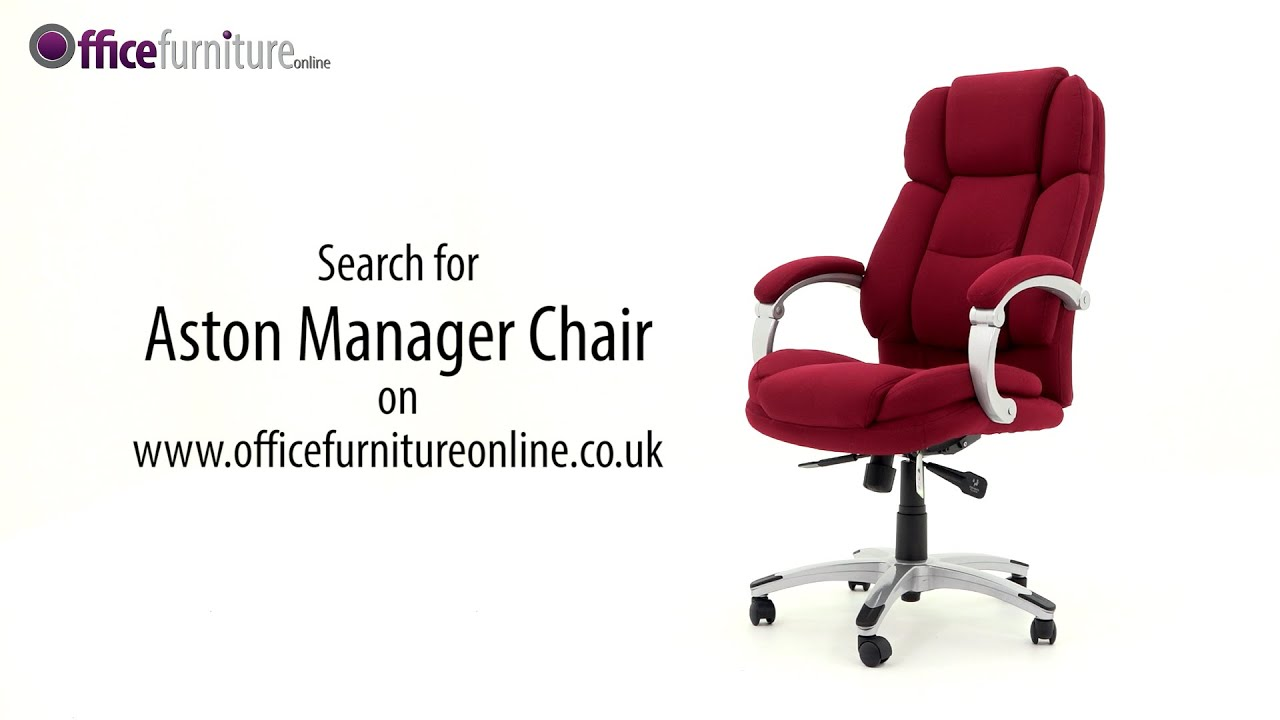 Aston Manager Chair Features and User Guide YouTube