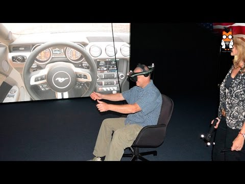 Ford Virtual Reality Immersion Lab - A Look at the Ford Mustang