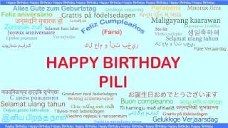 Pili   Languages Idiomas - Happy Birthday