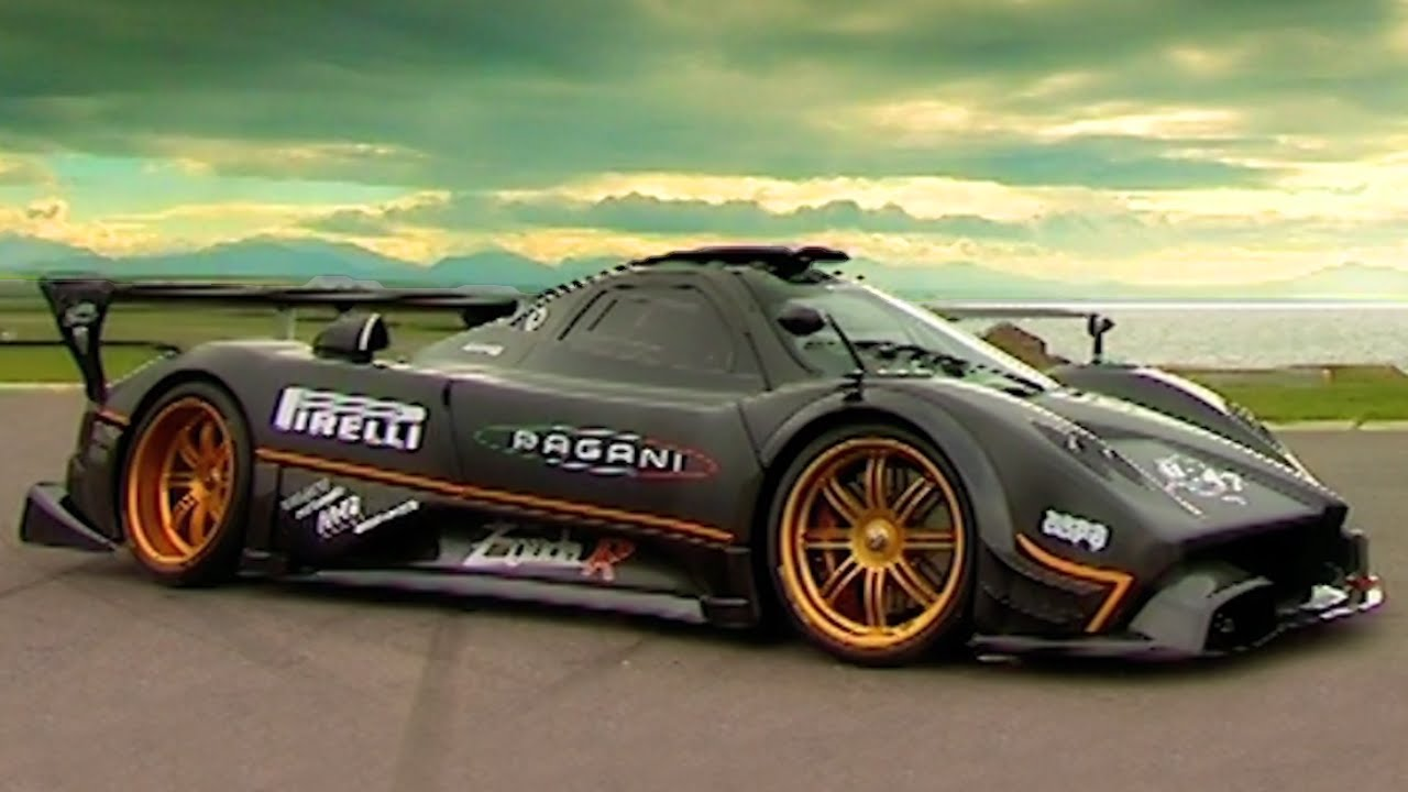 Tiff s The Pagani Zonda R #TBT - Fifth Gear - YouTube