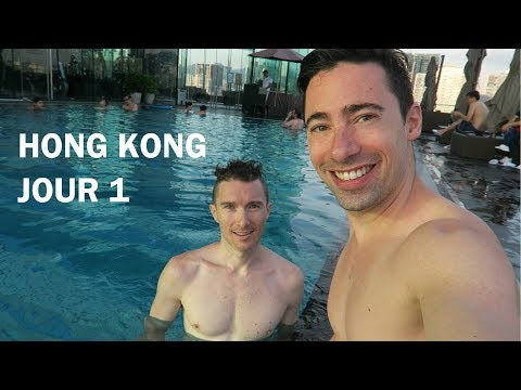 [GAY VLOG] 1er jour à Hong-Kong - Hotel ICON