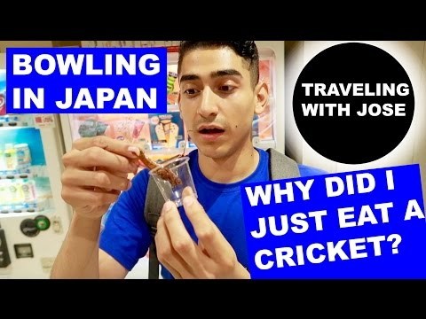 BOWLING IN JAPAN: WHY DID I JUST EAT THAT?