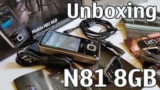 nokia N81 8GB unboxing