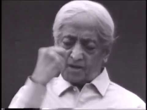 On the art of questioning | J. Krishnamurti