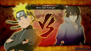 Naruto Ultimate Ninja Storm 3 Naruto Vs Sasuke S-Rank Legend (English)