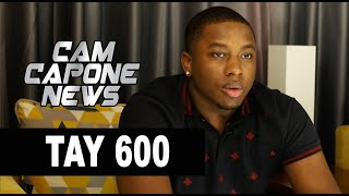Tay 600 on Seeing L'A Capone Get Shot The First Time(Part 1of5)