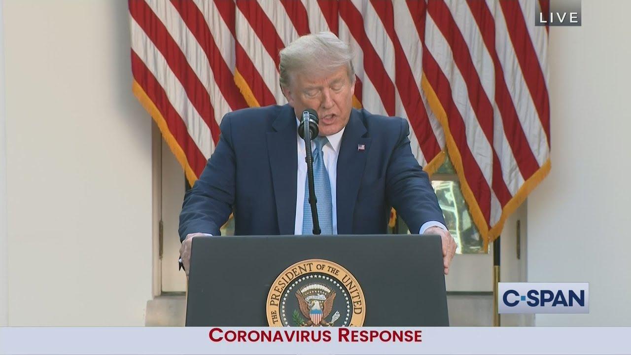 White House Coronavirus News Conference Youtube
