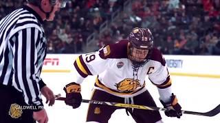 "College Hockey Pump Up 2017-18 ""Human"""