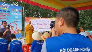 Hội DN Bình Thạnh - Trao Quà Cho Việt Kiều Campuchia Hồi Hương