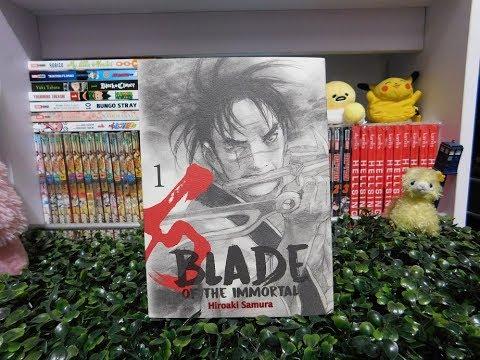 "Reseña Manga   ""Blade of the Immortal"" #1 de Editorial Panini"