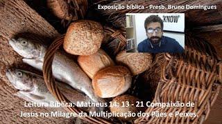 Exposição bíblica - Presb. Bruno Domingues