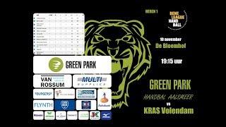 Green Park Handbal Aalsmeer vs KRAS/Volendam