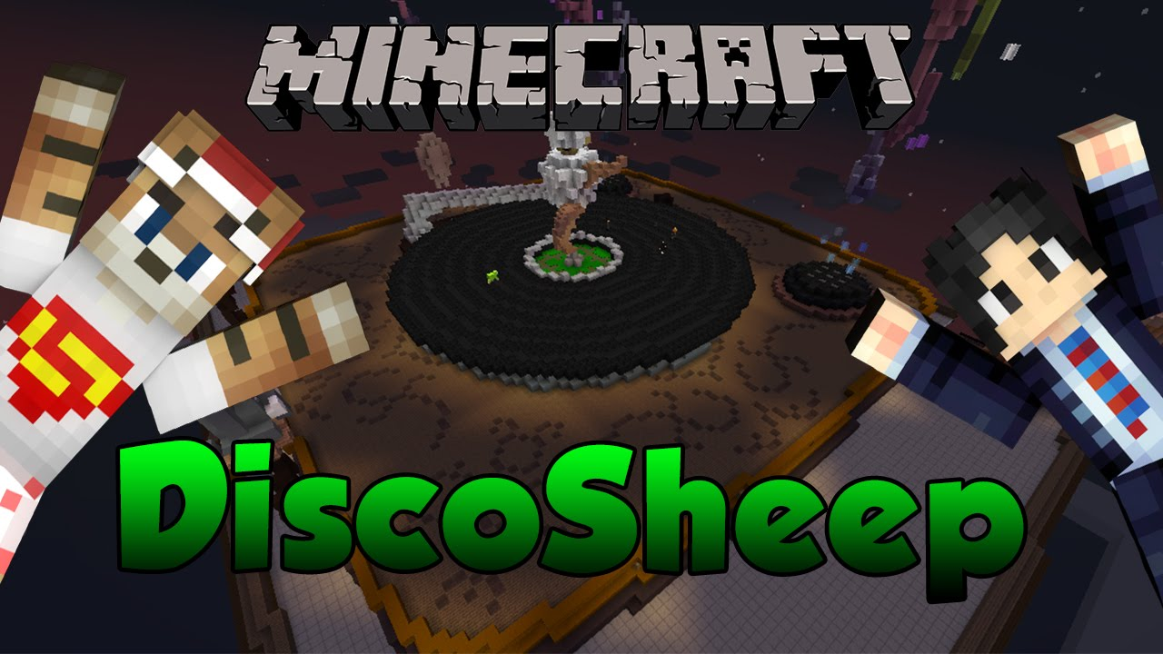 Fr minecraft discosheep m lange de chaise musicale for Chaise musicale