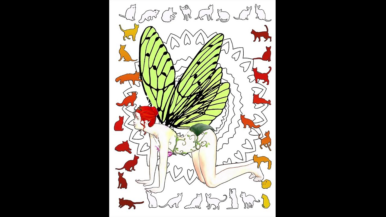 Yoga Fairies Coloring Book An Adult On Amazon By Adele Aldridge