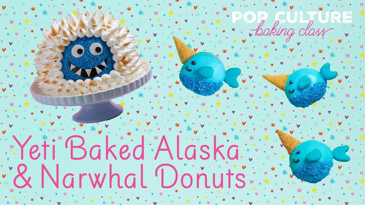 Yeti Baked Alaska And Narwhal Donuts Genius Kitchen