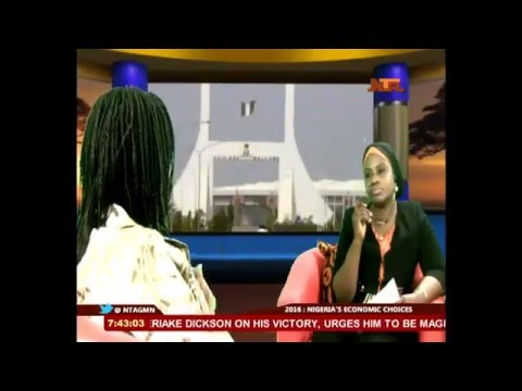 Good Morning Nigerian With Minister of Finance 12 January 2016
