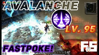 Dragon Nest PvP : Avalanche (Ecne) 64 Combo! Ladder KOF 95 KDN