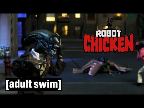 Robot Chicken | Alien Secretions | Adult Swim UK