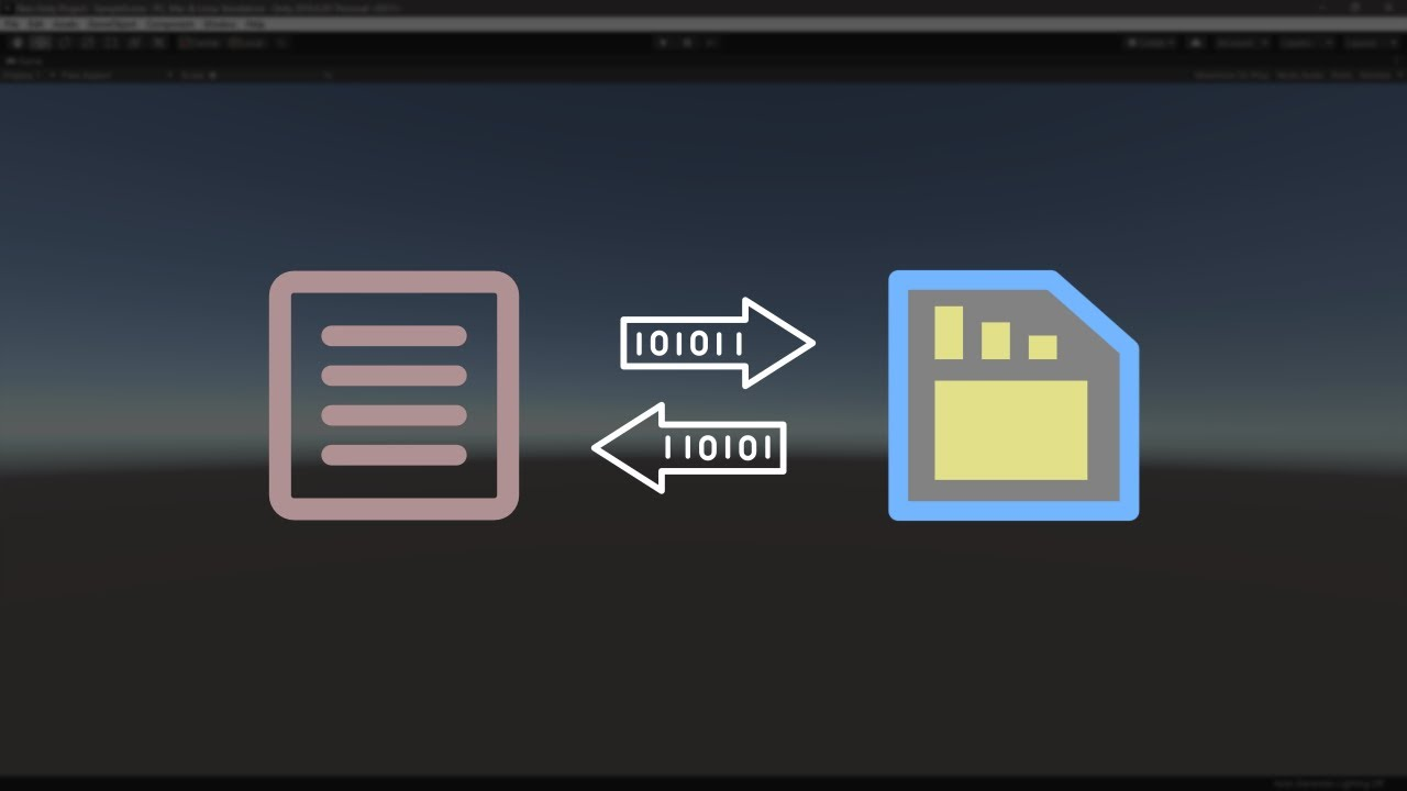 Download Save/Load Data Securely Using BinaryFormatter in Unity Game Engine