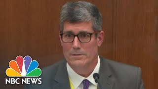 Medical Examiner Testifies That Subdual, Restraint Led To George Floyd's Death | NBC News NOW