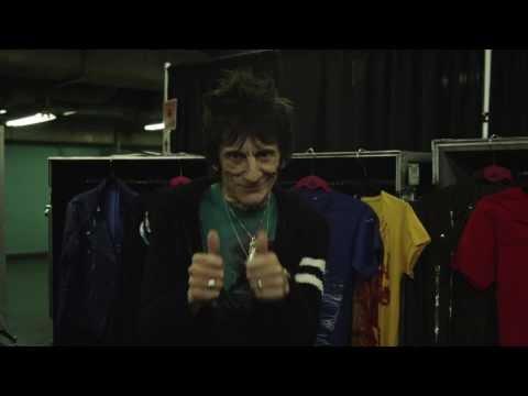 Ronnie Wood Backstage Exclusive - Tokyo