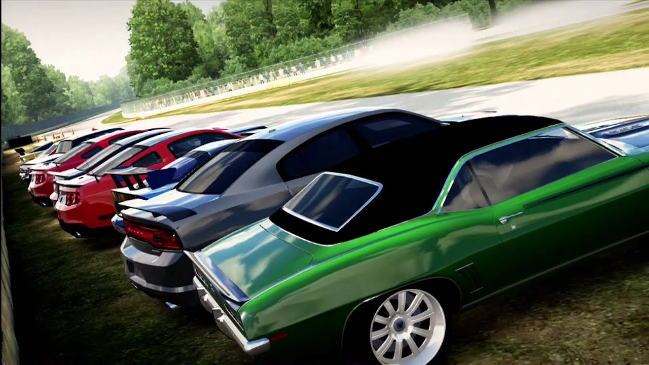 Forza Motorsport Muscle Car Cruise At Road America Youtube