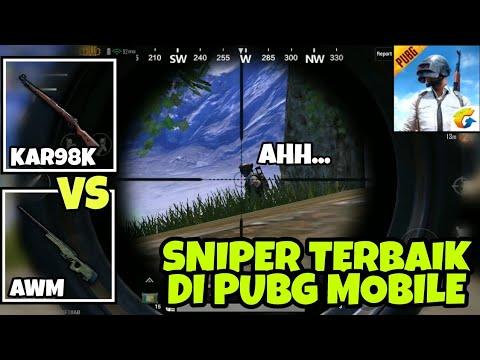 Coba Senjata Sniper Terbaik Di Pubg Mobile Kar98k Vs Awm Pubg