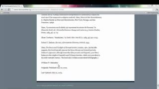 Digital Resource Series - Step 4b: Referencing Online Encyclopedias