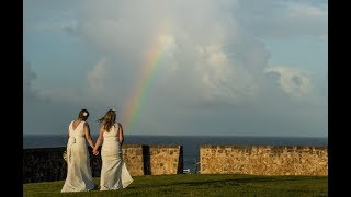 Jen & Donelle's Puerto Rico gay wedding