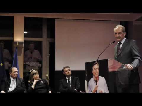 Réunion de Soutien à François Fillon avec Gérard Longuet à Rueil Malmaison