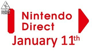RUMOR - Next Nintendo Direct Is January 11th