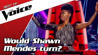 TOP 10 | MIND BLOWING covers of Shawn Mendes in The Voice