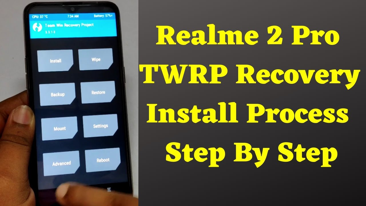 How To Root Realme X without PC and Install TWRP - Realmeroot