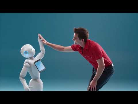 SoftBank Robotics Meet Pepper