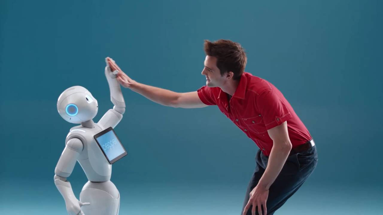 Softbank Robotics Meet Pepper Youtube