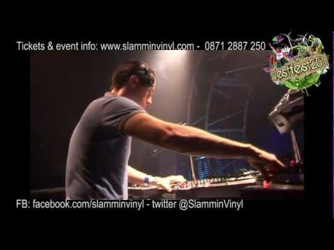 DJ Friction playing Main Room at Westfest 2010 with MC Eksman