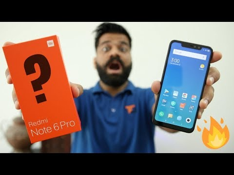 Xiaomi Redmi Note 6 Pro Unboxing & First Look - Same as Note 5 Pro???🔥🔥🔥