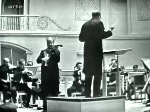 (5/5) David Oistrakh - Brahms Violin Concerto - III