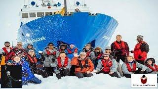 Russian crash ship in Antarctic ice free - Storytelling