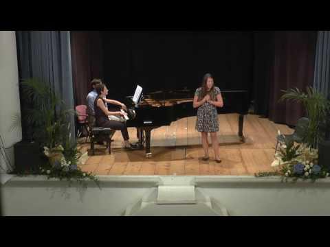 """Schubert - Der Erlkönig, """"Elf King"""" - Jessie Dunnavant, mezzo-soprano, and Irina Nuzova, piano"""