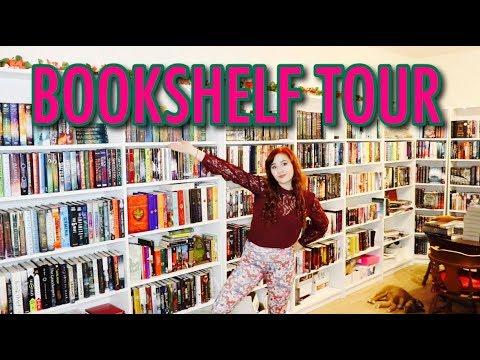 BOOKSHELF TOUR 2017 | 800+ BOOKS