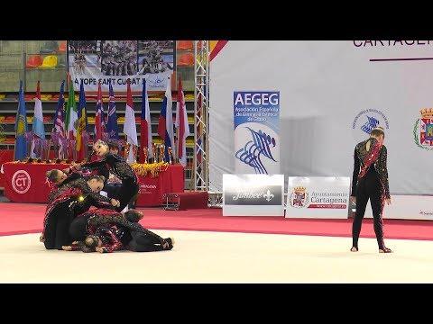 RITMICA BARCELONA (ESP)   IFAGG World Championships Junior Cartagena 2019   FINAL
