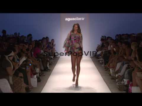 Models walk the runway during the Aguaclara swimwear 2013…