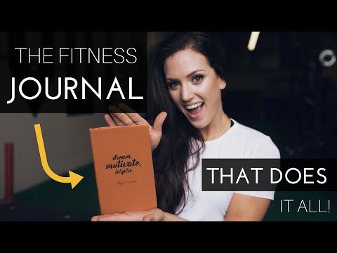 THE FITNESS JOURNAL THAT DOES IT ALL – Track All Your Progress In One Place!